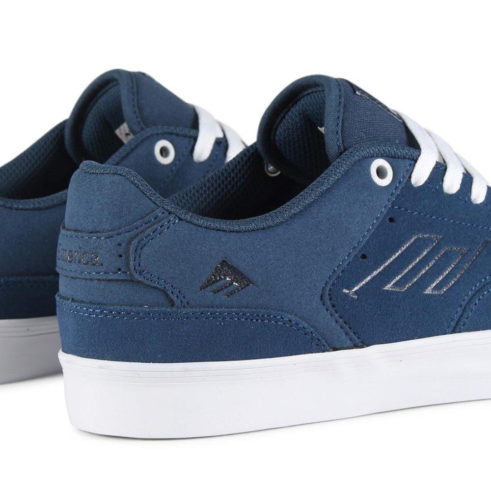Emerica Reynolds Low Vulc Shoes - Blue / White / Gum