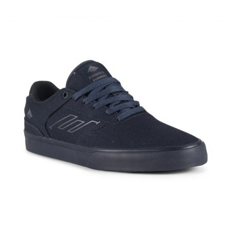 Emerica Reynolds Low Vulc Shoes - Navy / Navy / Grey