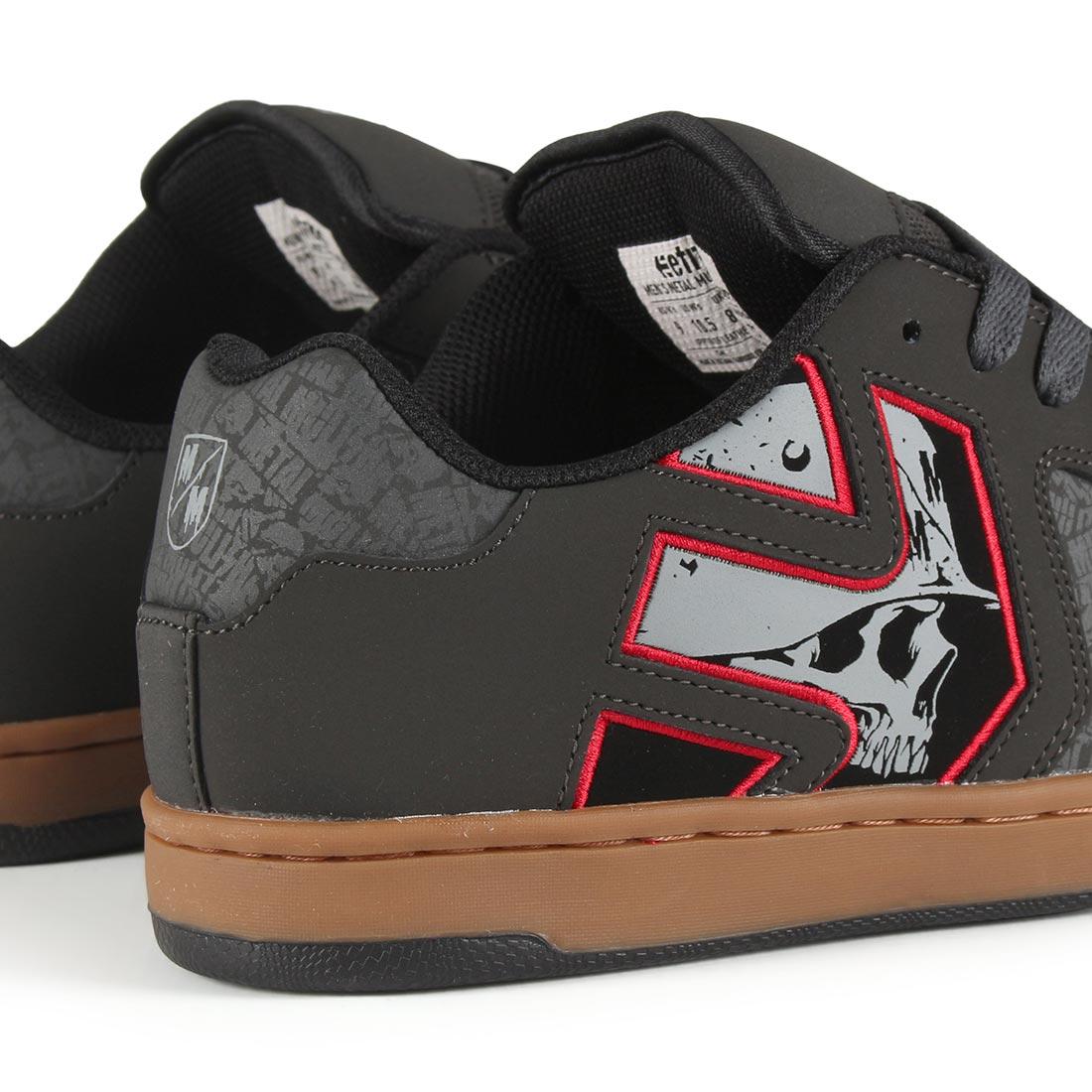 113de44ea11d1f Etnies Metal Mulisha Fader 2 Shoes - Black   Grey   White