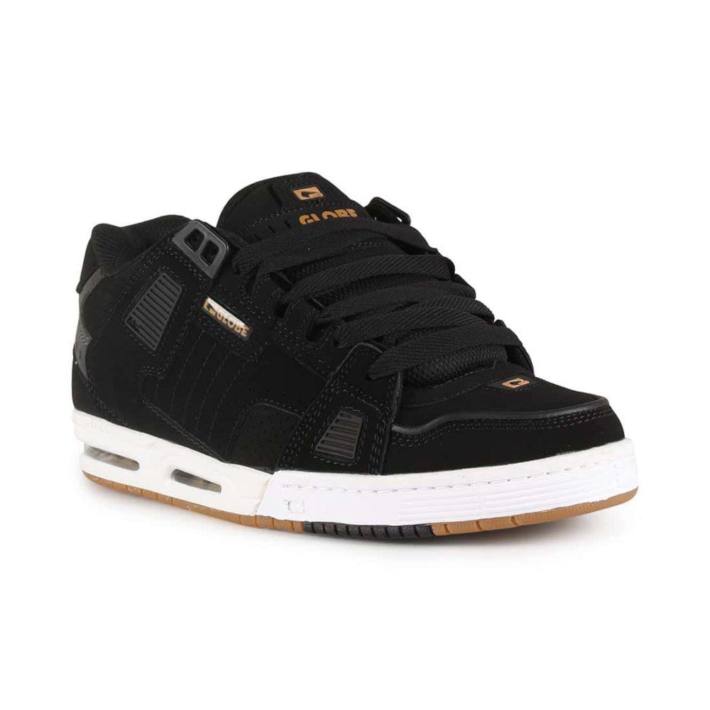 Globe Sabre Shoes - Black / Gold