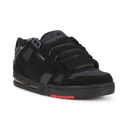 Globe Sabre Shoes - Black / Night / Red