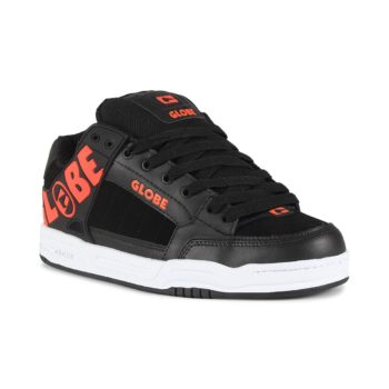 Globe Tilt Shoes - Black / Spicy Orange