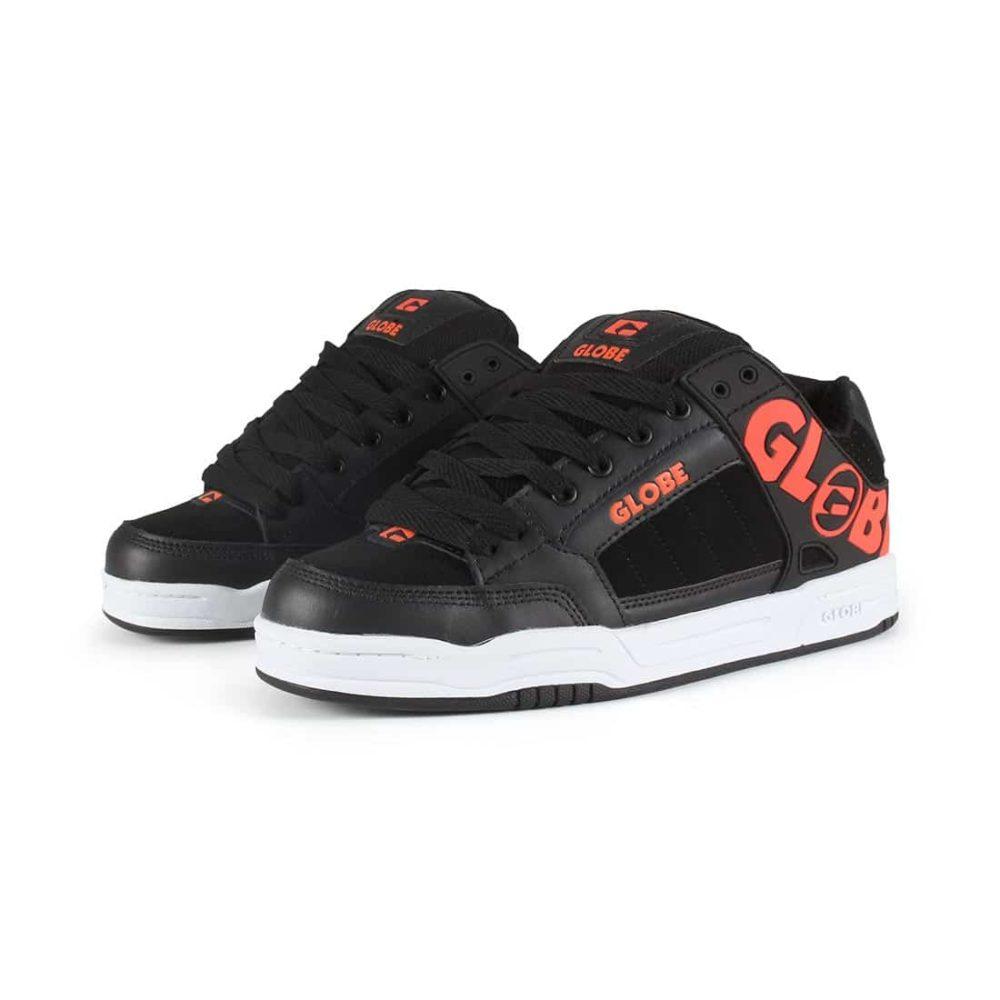 Globe Tilt Shoes - Black / Spicy Orange