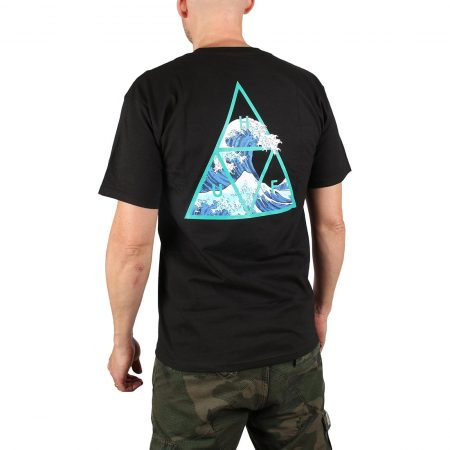 HUF High Tide S/S T-Shirt - Black