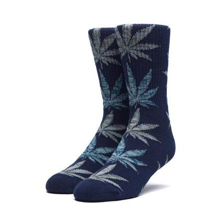 HUF Melange Leave Crew Socks Indigo