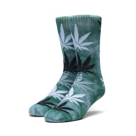 HUF Stain Plantlife Crew Socks Blue Haze