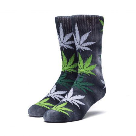 HUF Stain Plantlife Crew Socks Bubba Kush