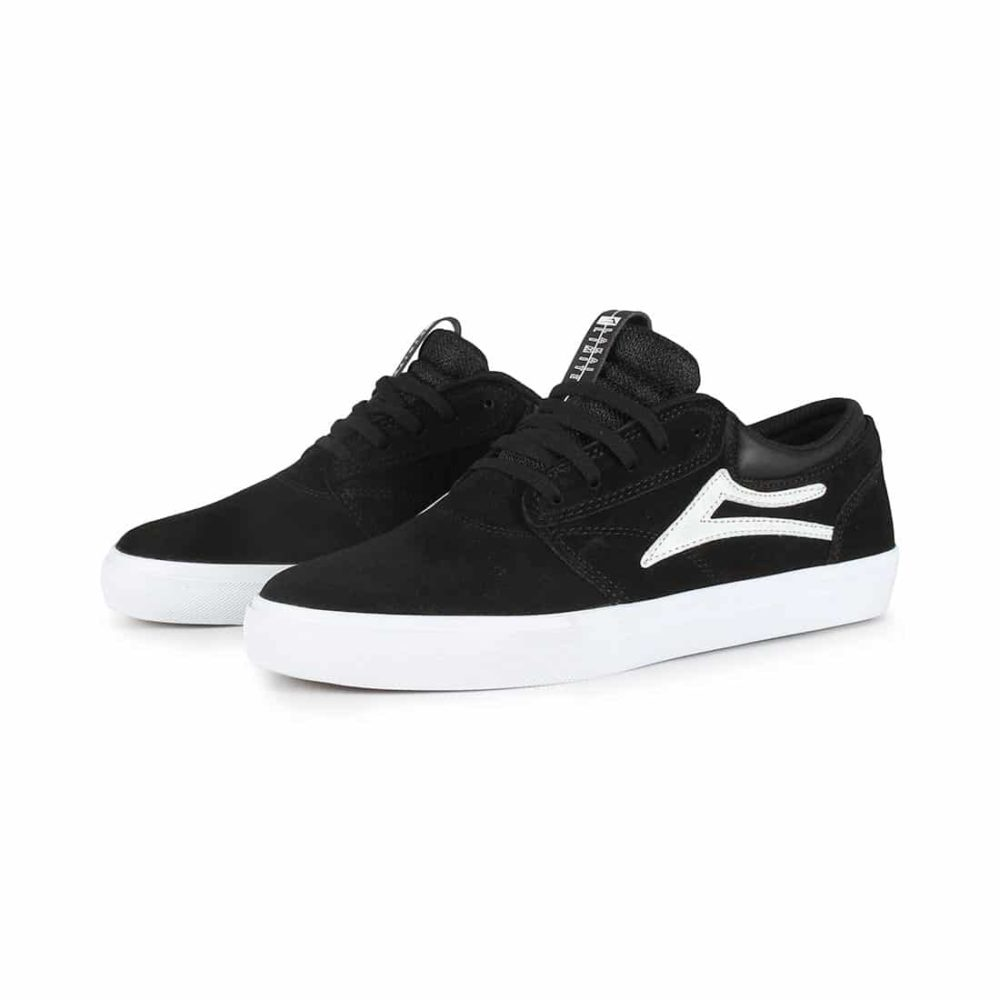 Lakai Griffin SMU Shoes - Black Suede