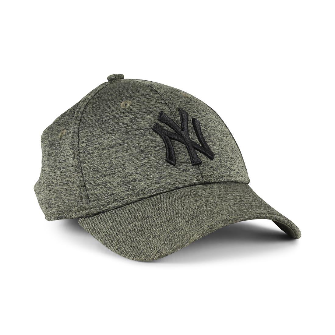 NEW ERA 9FORTY ADJUSTABLE CAP. DRY SWITCH JERSEY. NEW YORK YANKEES. OLIVE 1a0000a3523