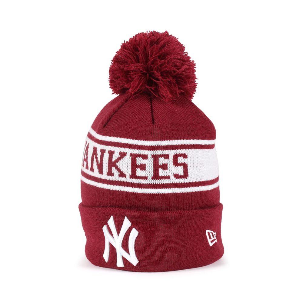 85889bf94a2 New Era New York Yankees Seasonal Jake Beanie - Cardinal   Off ...