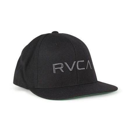 RVCA RV Twill Snapback III Hat (AW18) - Black / Charcoal