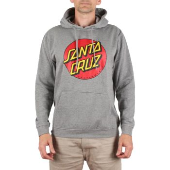 Santa Cruz Classic Dot Pullover Hoodie - Dark Heather