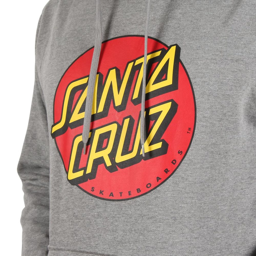 Santa Cruz Classic Dot Pullover Hoodie - Dark Heather