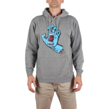 Santa Cruz Screaming Hand Pullover Hoodie - Dark Heather