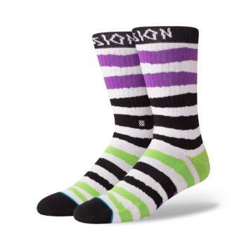 Stance x Lizard King Passion LK Socks - Black