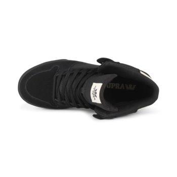 Supra Vaider High Top Shoes - Black / Off-White / Black