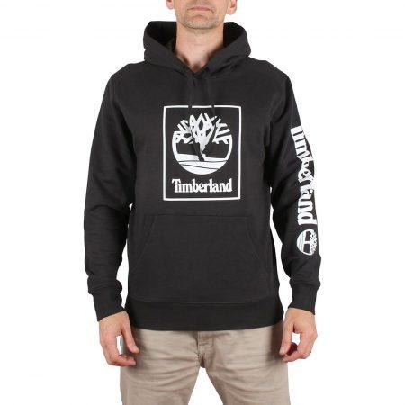 Timberland SLS Seasonal Logo Pullover Hoodie - Black