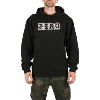 Zero Bold Pullover Hoodie - Black / White