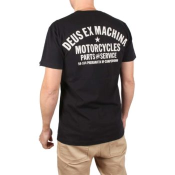 Deus Ex Machina Bloodnok S/S T-Shirt – Black