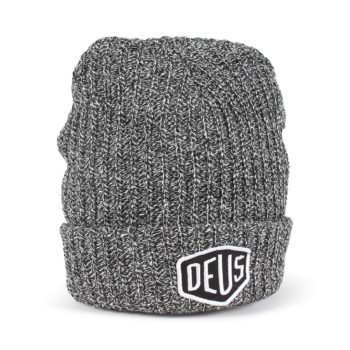 Deus Ex Machina Melange Beanie Hat - Grey