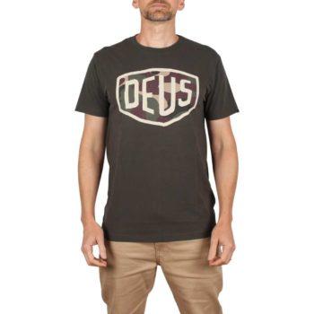 Deus Ex Machina Warrant S/S T-Shirt - Beluga
