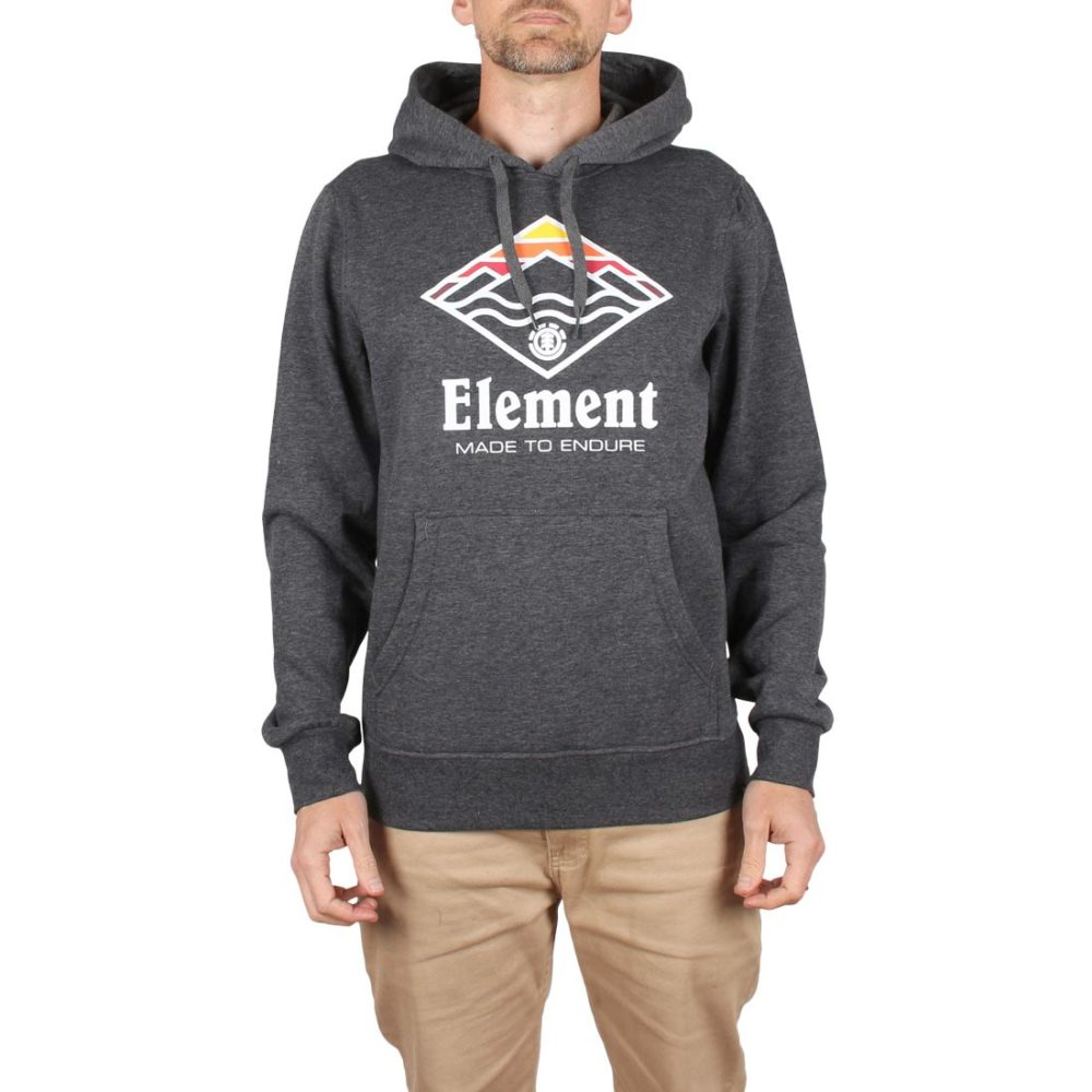 Element Layer Pullover Hoodie - Charcoal Heather