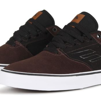 Emerica Reynolds Low Vulc Shoes - Brown / Black