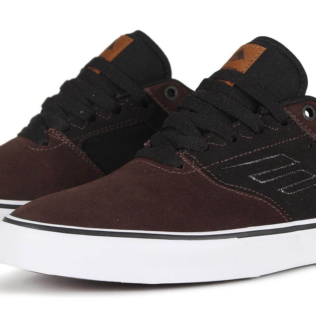 Emerica Reynolds Low Vulc Shoes - Brown
