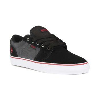 Etnies Barge LS Shoes - Black / Dark Grey