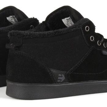 Etnies Jefferson Mid Shoes - Black / Black