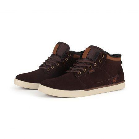 Etnies Jefferson Mid Shoes - Brown / Brown
