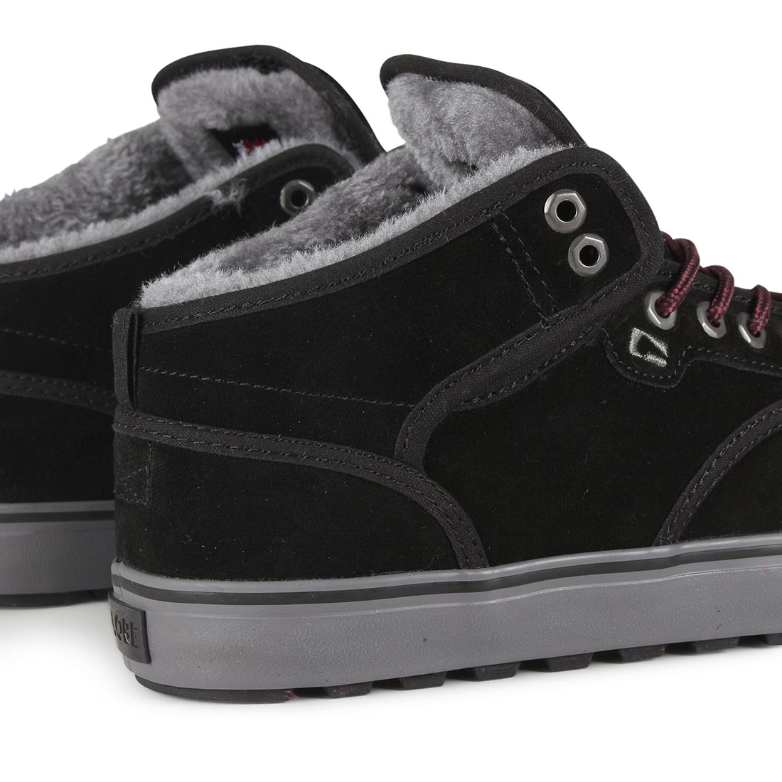 0e675395d43 Globe Motley Mid Shoes - Black / Phantom / Fur