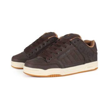 Globe Tilt Shoes - Brown Leather