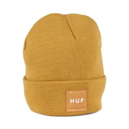 HUF Box Logo Beanie Honey