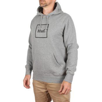 HUF Box Logo Pullover Hoodie - Heather Grey