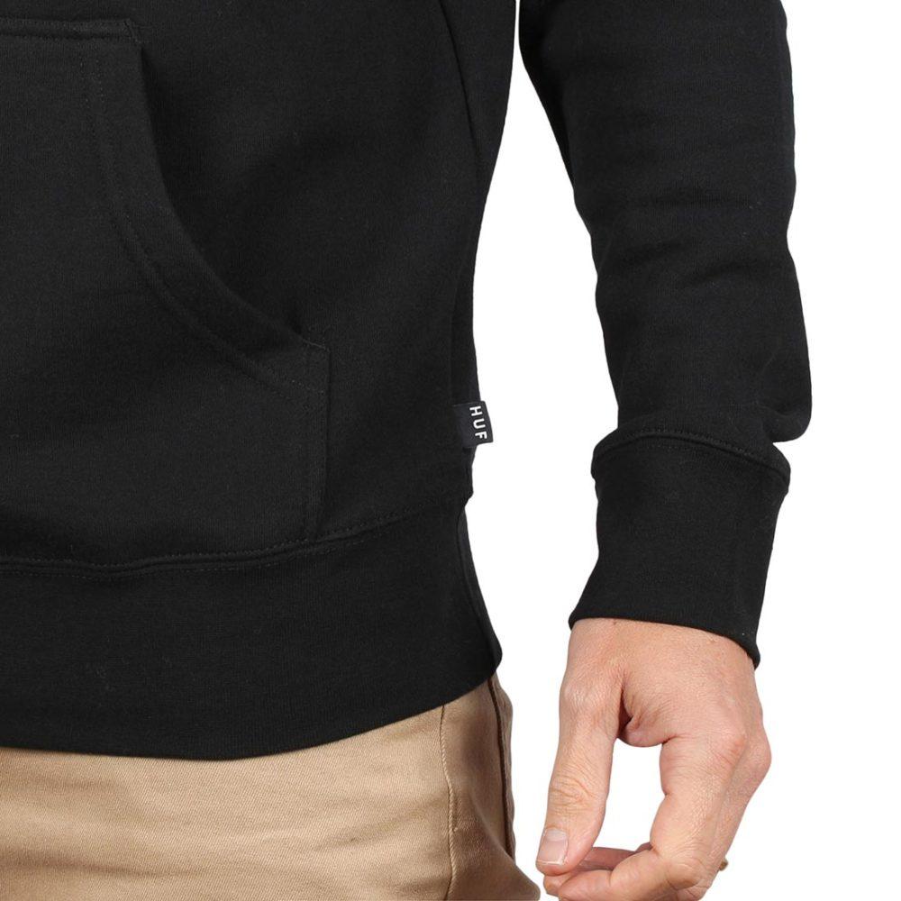 HUF Essentials Triple Triangle Pullover Hoodie - Black