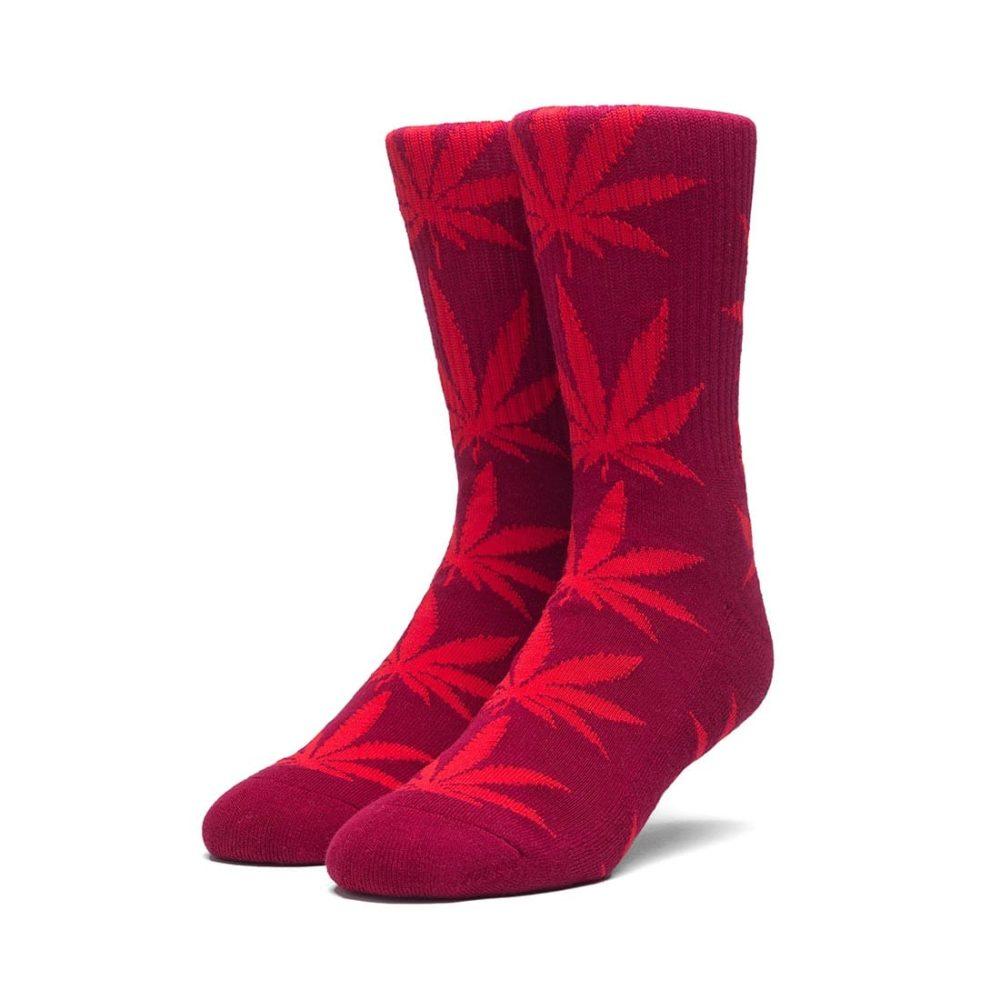 HUF-Plantlife-Crew-Socks-Terracotta