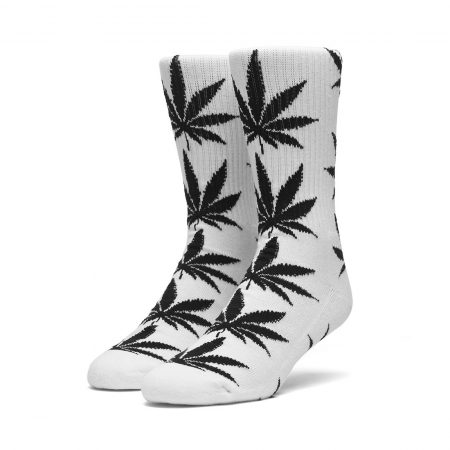 HUF Plantlife Crew Socks - White