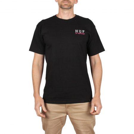 HUF Proto Classic H S/S T-Shirt - Black