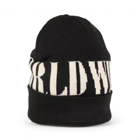 HUF Serif Beanie Hat - Black