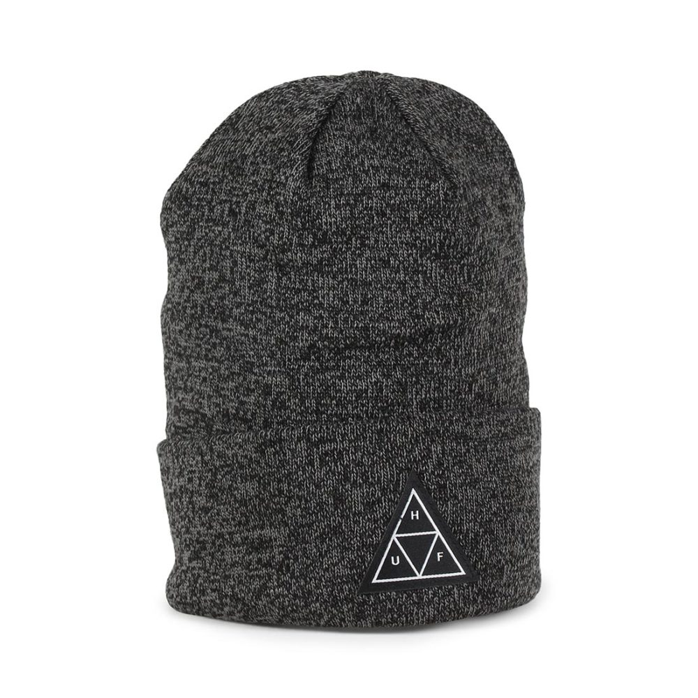 HUF-Triple-Triange-Beanie-Hat-Black-01