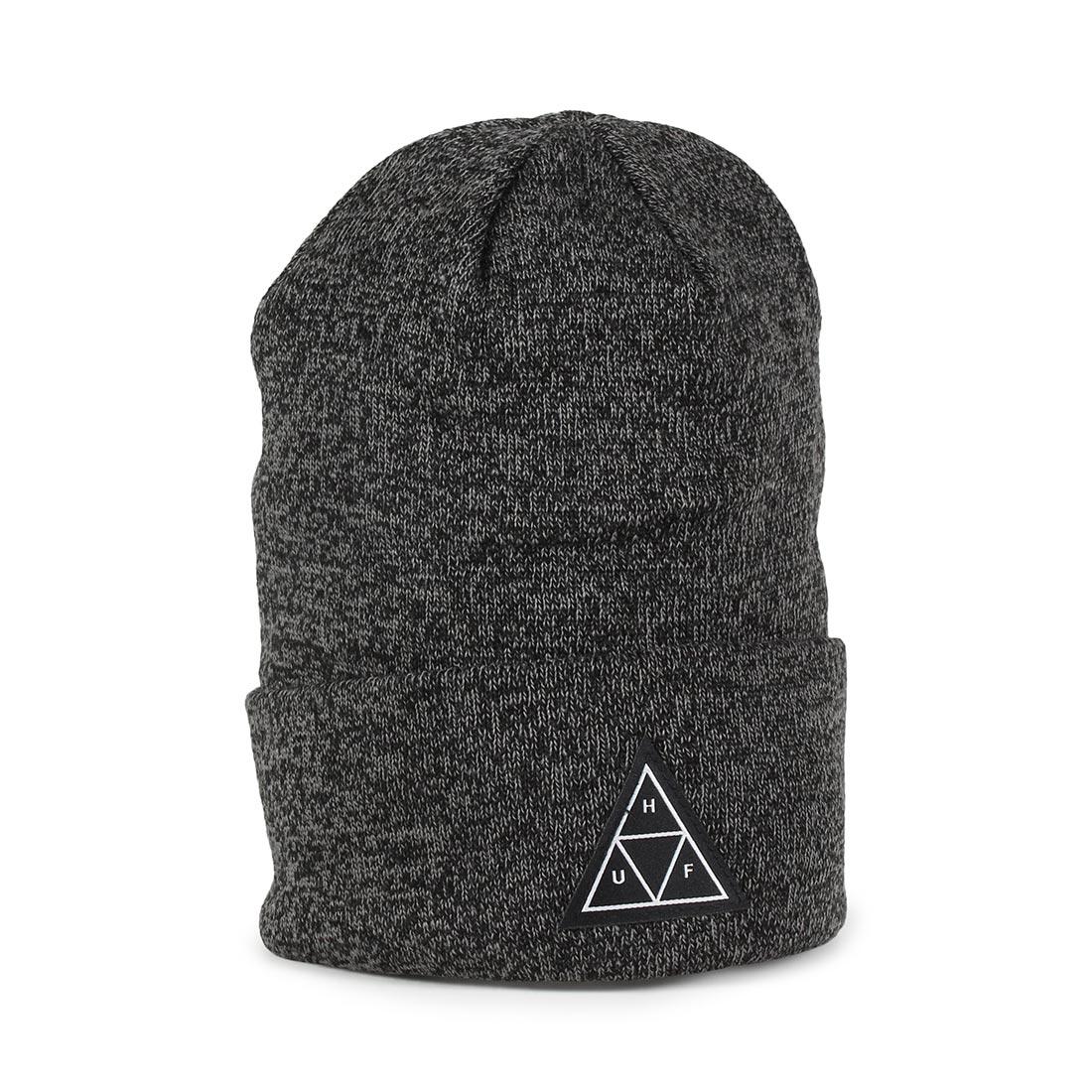 HUF Triple Triangle Beanie Hat - Black