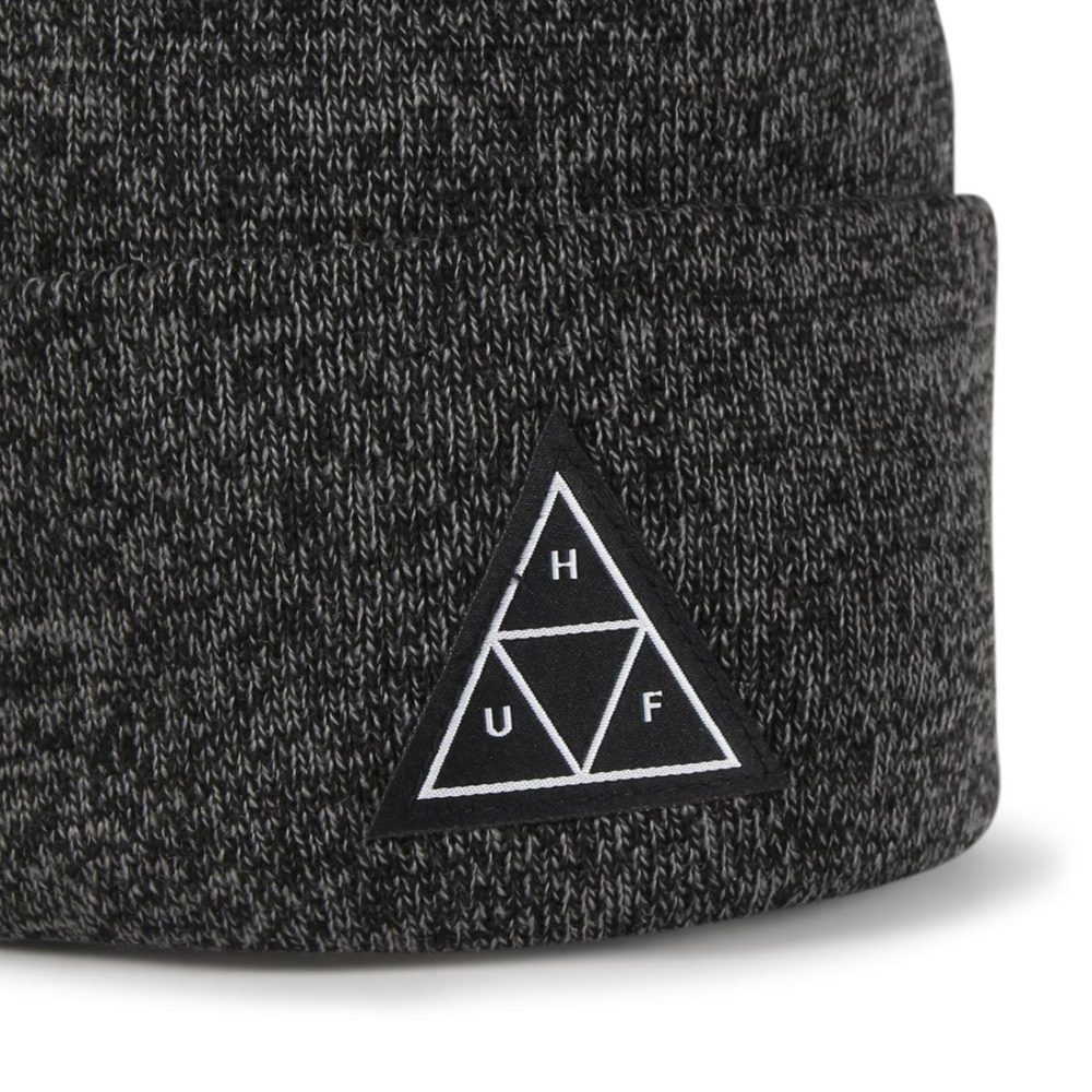 HUF-Triple-Triange-Beanie-Hat-Black-02