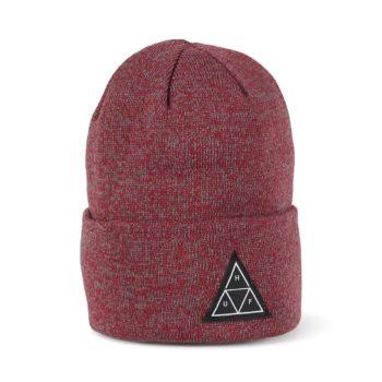 HUF Triple Triangle Beanie Hat - Terracotta