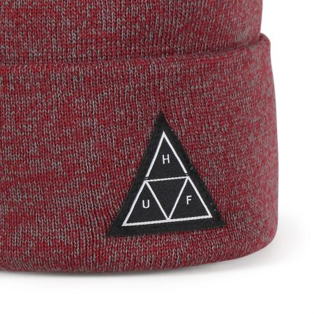 HUF Triple Triangle Beanie Hat - Terracotta