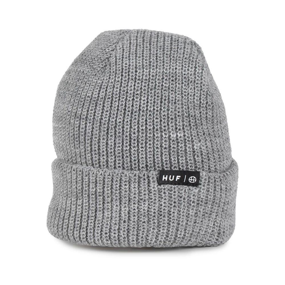 HUF-Usual-Cuffed-Beanie-Hat-Grey-Heather-01
