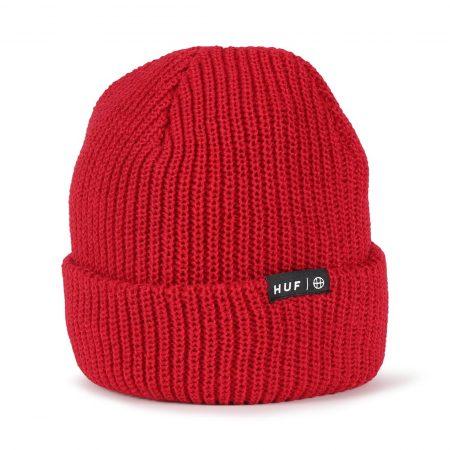 HUF Usual Cuffed Beanie Hat - Scarlet