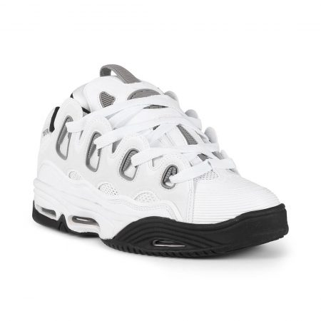 Osiris D3 2001 Shoes - White / Grey / Black