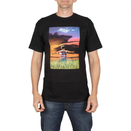 Real Skateboards Kelch Flyer S/S T-Shirt - Black