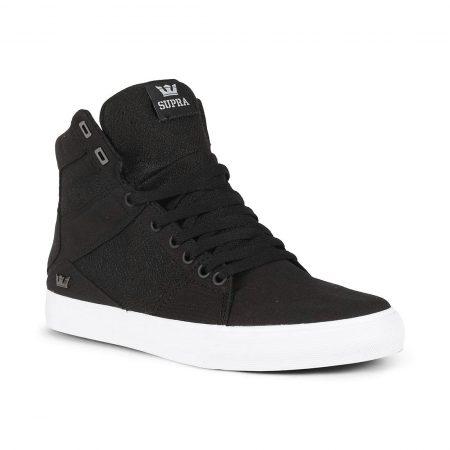 Supra Aluminum Shoes - Black / White